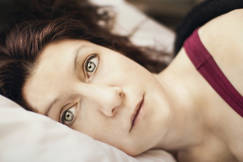 Depressionen können Ursache von Einschlafproblemen sein