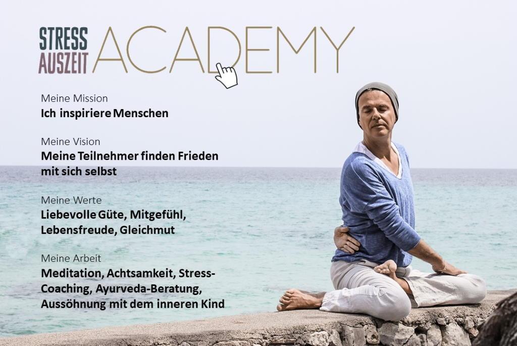 Stefan Geisse Vision Stress Auszeit Academy